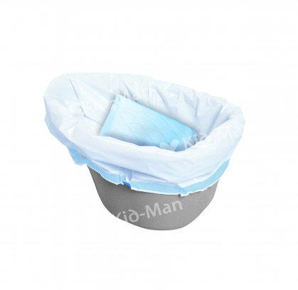 COMMODE PAIL LINER, 20 UNITS