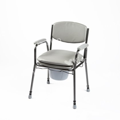COMMODE WITH SOFT SEAT